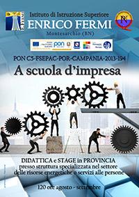 manifesto PON 2015 C5 a scuola d'impresa
