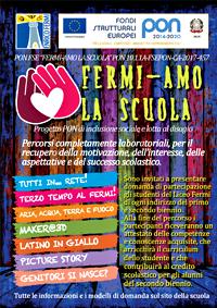 manifesto PON 2016 CA Fermi-amo la scuola