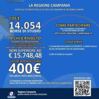 Regione Campania: bando per borsa di studio studenti