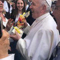 Anche il Fermi abbracciato dal sorriso di Papa Francesco