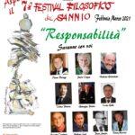 Adesione al VII FESTIVAL FILOSOFICO DEL SANNIO
