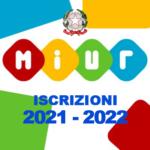Iscrizioni anno scolastico 2021-2022 dal 4 al 25 gennaio 2021