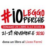 Iniziativa #IoLeggoPerchè: dona un libro alla nostra biblioteca