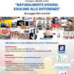 Convegno dibattito NATURALMENTE DIVERSI: EDUCARE ALLE DIFFERENZE